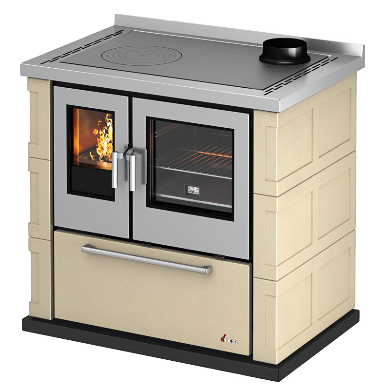 Cucine a legna : Cucina a legna Kook 87 7,5kW